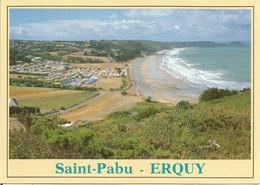 CAMPING Saint-Pabu  -  ERQUY.  (scan Verso) - Erquy