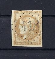 Frankreich Mi.40a Gestempelt Kat.70,-€ - 1870 Bordeaux Printing