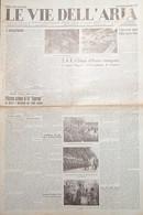 Giornale Aeronautica - Le Vie Dell'Aria N.50 Corso Pegaso Accademia Caserta 1935 - Non Classificati