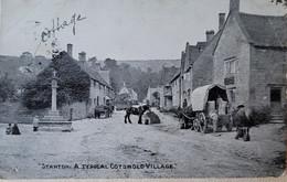 Stanton Broadway -a Typical Cotswold Village (courrier Militaire)censure 1915 - Altri