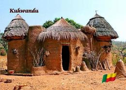 Benin Kukwandu Huts New Postcard - Benin