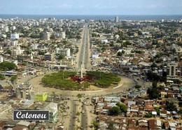 Benin Cotonou Aerial View New Postcard - Benin
