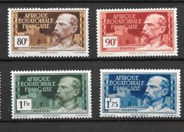 1937- AEF - Gentil -   MNH**-  YT 49 50 51 56 - Neufs