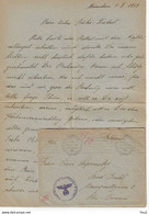 Brief Met Enveloppe - Veldpost 01.10.1943 - Cartas
