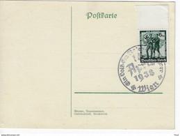 Swastika 1938 Ein Volk Ein Reich - Cartas