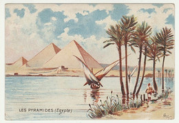 CHROMO CHOCOLAT DELESPAUL - HAVEZ  LILLE  LES PYRAMIDES  EGYPTE - Thee & Koffie