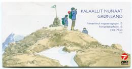 GREENLAND 2007 Europa: Scouting Booklet MNH / **  Michel 482-83;  SG  SB28 - Markenheftchen