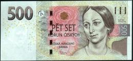 ♛ CZECH REPUBLIC - 500 Korun 2009 {Česká Národní Banka} UNC P.24 A - Czech Republic