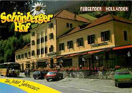 Automobiles - Petit Plan - Schonbergerhof Alias Fliegender Hollander - Inh Farm De Ruiter - CPM - Voir Scans Recto-Verso - Turismo