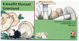 GREENLAND 2006 Fungi Booklet MNH / **  Michel 467-68;  SG  SB26 - Markenheftchen