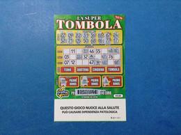 ITALIA BIGLIETTO LOTTERIA GRATTA E VINCI USATO € 5 LA SUPER TOMBOLA NEW LOTTO 3026 SERIE GG ITALY TICKET LOTTERY - Billetes De Lotería