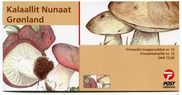 GREENLAND 2005 Fungi Booklet MNH / **  Michel 434-363;  SG  SB24 - Markenheftchen