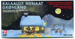 GREENLAND 2003 Christmas Booklet MNH / **  Michel 405-06;  SG  SB21 - Markenheftchen