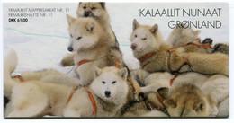GREENLAND 2003 Sled Dogs Booklet MNH / **  Michel 393-95, MH13;  SG  SB19 - Markenheftchen