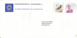 Antwerpen 2000 >> Mechelen  / MVTM Buzin / Europeade - Storia Postale