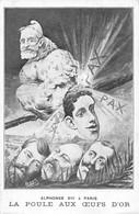 Illustrateur: Orens      Alphonse XIII  ...La Poule Aux œufs D'or     Guillaume II. ... Nicolas II.    (voir Scan) - Orens