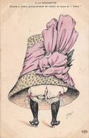 Illustrateur: Orens       A La Modinette  Chapeau Rubans Et Noeuds En Volée    (voir Scan) - Orens