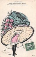 Illustrateur: Orens       A La Modinette  Chapeau Mappemonde    (voir Scan) - Orens