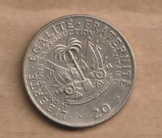 HAITI  20 Centimes (FAO)  1975  F.A.O. Copper-nickeL - Haiti