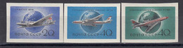 USSR 1958 - Avions(2), Mi-Nr. 2169/71B, MNH** - Unused Stamps