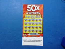 ITALIA BIGLIETTO LOTTERIA GRATTA E VINCI USATO € 10,00 NUOVO 50X LOTTO 3304 ITALY LOTTERY TICKET - Billetes De Lotería