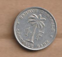 RUANDA-URUNDI   Aluminium-magnesium 1959 • 2.2 G • ⌀ 26.2 Mm KM# 3, LA# BRM-4, Schön# 33 - 1951-1960: Baudouin I