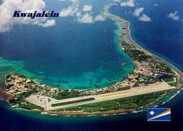 Marshall Islands Kwajalein Atoll Aerial View New Postcard Marshallinseln AK - Marshall Islands