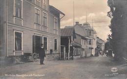 CPA - Sverige / Sweden - WAXHOLM, Hamngatan Och Posthuset 1922 - Carte Photo - Zweden