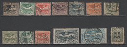 POLONIA - POLAND - POLSKA - 12 TIMBRES De HAUTE-SILESIE / COMMISSION DU GOUVERNEMENT + 1 S.O. 1920 - Usati - Used - Silesia (Lower And Upper)
