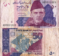 Pakistan / 50 Rupees / 2018 / P-47(l) / VF - Pakistan