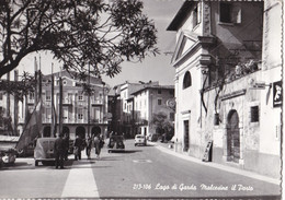 Italië - Verona - Malcesine - Malcesine Il Porto - Zwart/wit - Gebruikt - Ohne Zuordnung