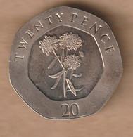 GIBRALTAR  20 Pence - 2016 Copper-nickel • 5 G • ⌀ 21.4 Mm - Gibraltar