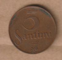 LETONIA   1922  Bronze • 3 G • ⌀ 22 Mm KM# 3, Schön# 3 - Latvia