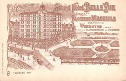CPA -  Belgique, WENDUYNE / WENDUINE, Grand Hotel Belle Vue - Wenduine