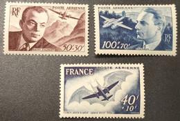 Poste Aérienne  N° 21/22/23 Neuf ** Gomme D'Origine  TTB - 1927-1959 Nuovi