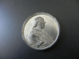 Medaille Besuch Von Papst Pius VI. In Augsburg 1782 - Unclassified