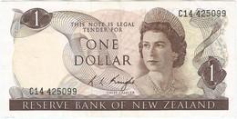Nueva Zelanda - New Zealand 1 Dollar 1975 Pk 163c UNC Ref 2969-1 - New Zealand