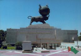 TURKMENISTAN, ASHGABAT,THE EARTHQUAKE MONUMNET  [14652] - Turkmenistan