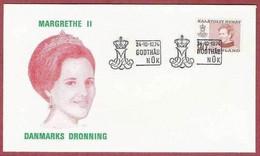 Gr001, FDC. GROENLAND LA POSTE  24/10-1974 - FDC
