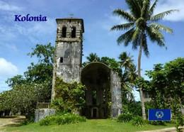 Micronesia Pohnpei Church New Postcard Mikronesien AK - Micronesia