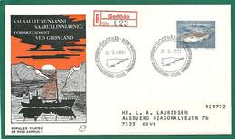 Gr001 * GREENLAND FDC * DEN  DANSKE PEARYLAND EXPEDITIONER 3.9.1981 - FDC