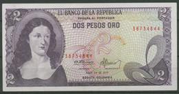 Kolumbien 2 Pesos 20.7.1977, KM 413 B Kassenfrisch (K537) - Colombia