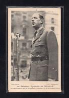 (04/04/21) 76-CPA ROUEN - LE GENERALE DE GAULLE AU MONUMENT DE LA VICTOIRE A ROUEN LE 8 OCTOBRE 1944 - Rouen