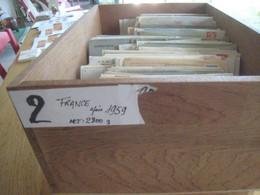 Lettres , Gros Lot De 2800 G De France  Aprés 1959 - Non Classificati