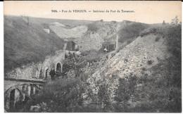 Cpa  Fort De VERDUN - Intérieur Du Fort De Tavannes . - Verdun