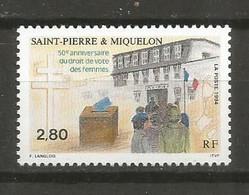 Timbre  St Pierre Et Miquelon Neuf **  N 597 - Unused Stamps