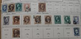 Etats Unis 1870 (15 Stamps) 10 Scans - Oblitérés