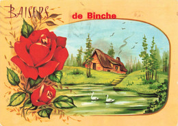 BAISERS De BINCHE - Carte Colorée - Binche
