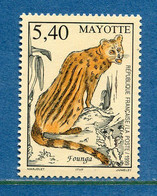 ⭐ Mayotte - YT N° 76 ** - Neuf Sans Charnière - 1999 ⭐ - Unused Stamps