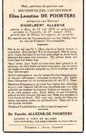 Eine - Nazareth - De Poortere - Alleene 1898 - 1953 - Zonder Classificatie